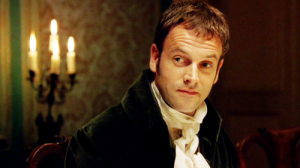 Jonny Lee Miller as Mr. Knightley in BBC's Emma