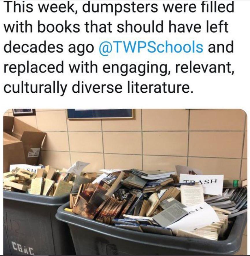 book banning bins