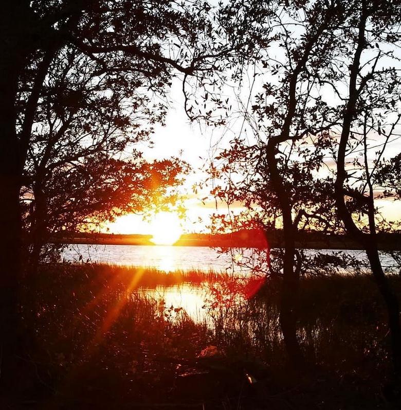 sunset kiawah